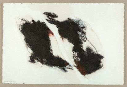 Sans titre / Technique mixte sur papier / 57 x 38
