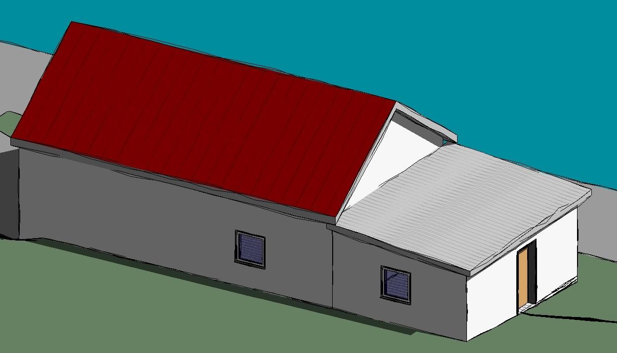 Erweiterung Feuerwehrhaus, Lindenkreuz