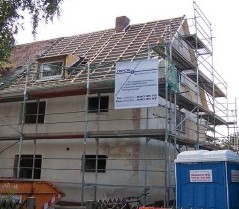 Sanierung Doppelhaushälfte in Erlangen