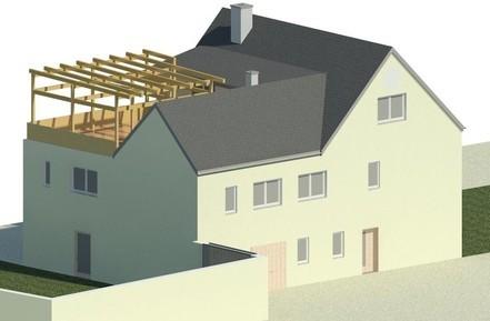 Umbau Zweifamilienhaus, Münchenbernsdorf