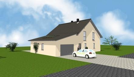 Neubau Einfamilienhaus, Rossau