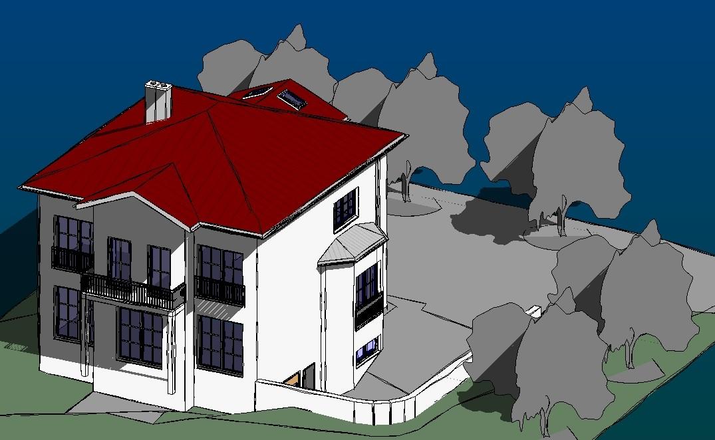 Neubau Einfamilienhaus, Meerane