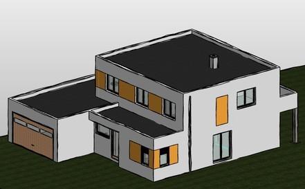 Neubau Einfamilienhaus, Altenburg