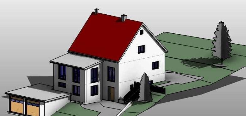 Umbau Einfamilienhaus, Crossen