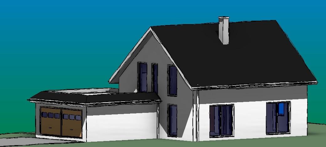 Neubau Einfamilienhaus, Döbeln