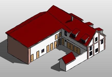 Umbau Scheune zum Wohnhaus, Hermsdorf