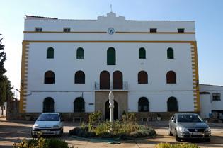 Le couvent où se trouve l'albergue