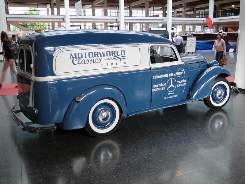 schöner alten Lieferwagen