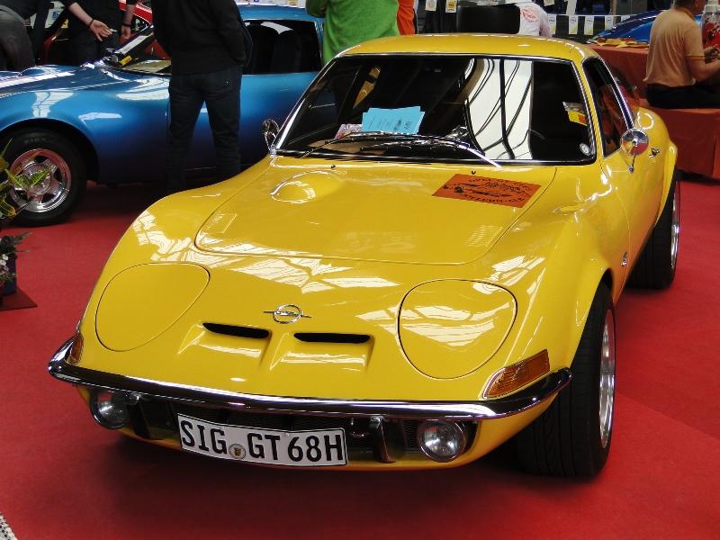 ein traumhaft schöner Opel GT