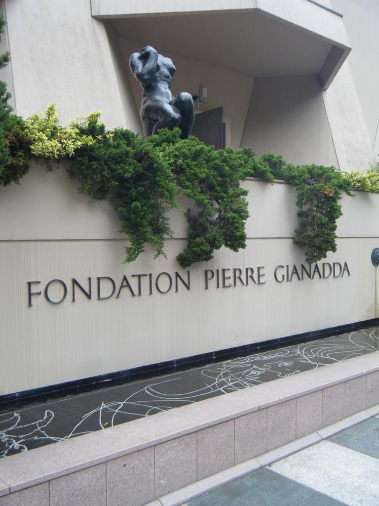 Entrée de la fondation Pierre Gianadda
