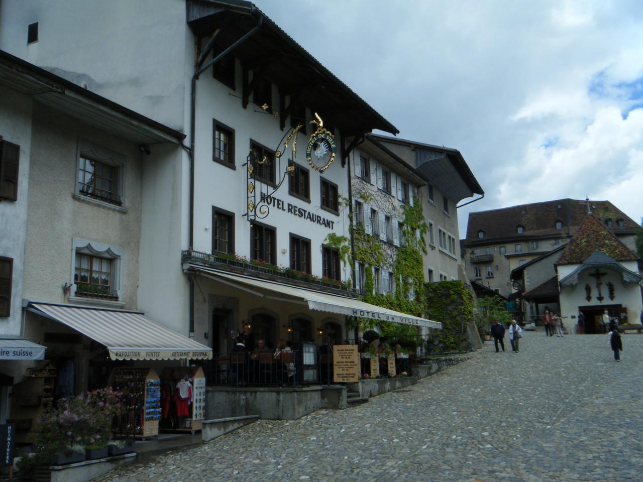 Village médiéval de Gruyère