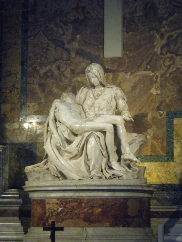 Pietà de Michel Ange - Basilique Saint-Pierre, Vatican