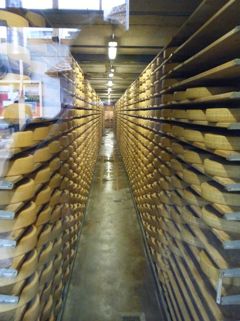 Entrepôt pour le fromage