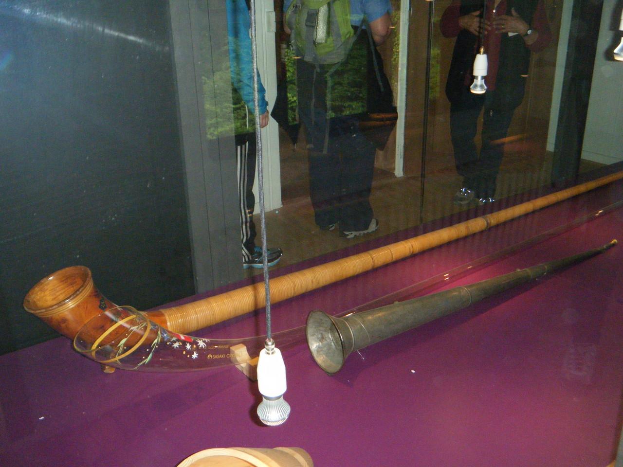 Cor des Alpes, instrument traditionnel