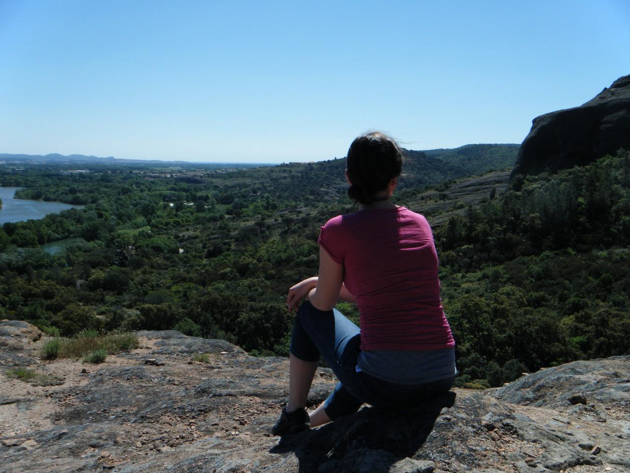 Roquebrune-sur-Argens, vue de la montagne