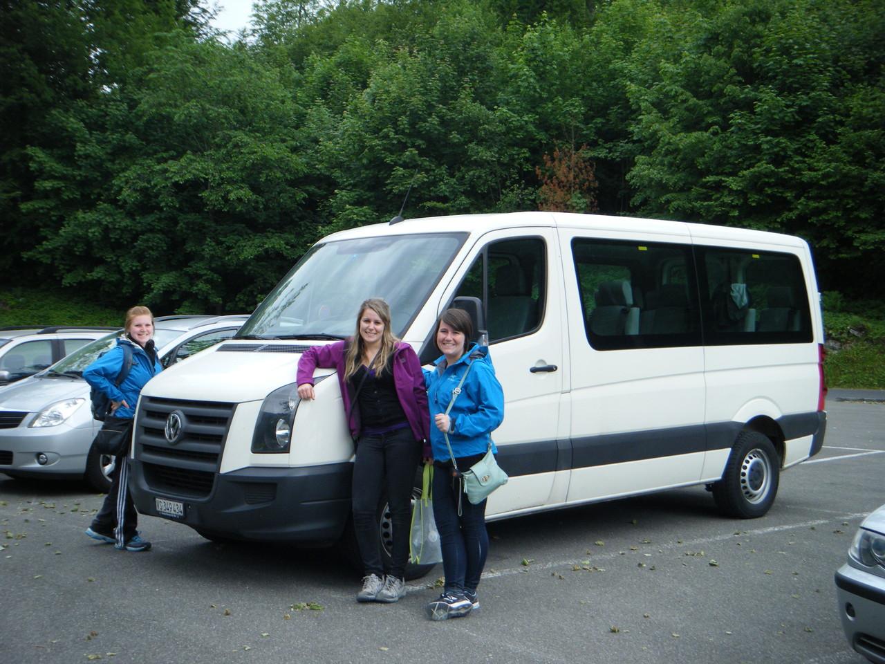 Voici le fameux bus qui nous a amené un peu partout!