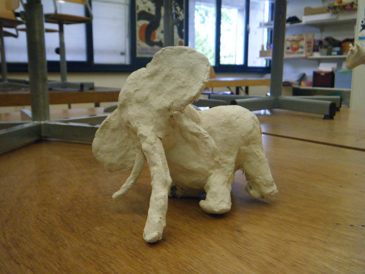Éléphant, création de Pauline