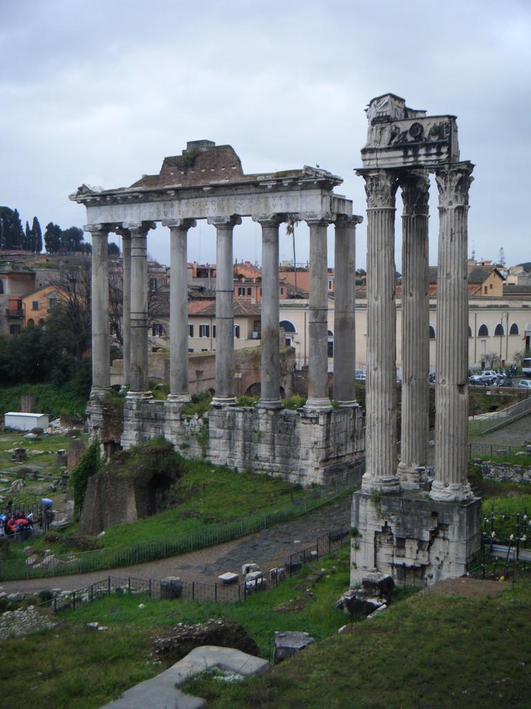 Ruines du Forum romain