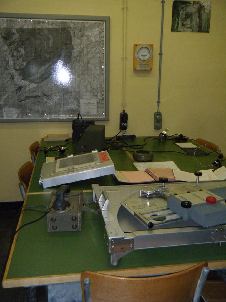 Salle des commandes - Le Fort Saint-Maurice