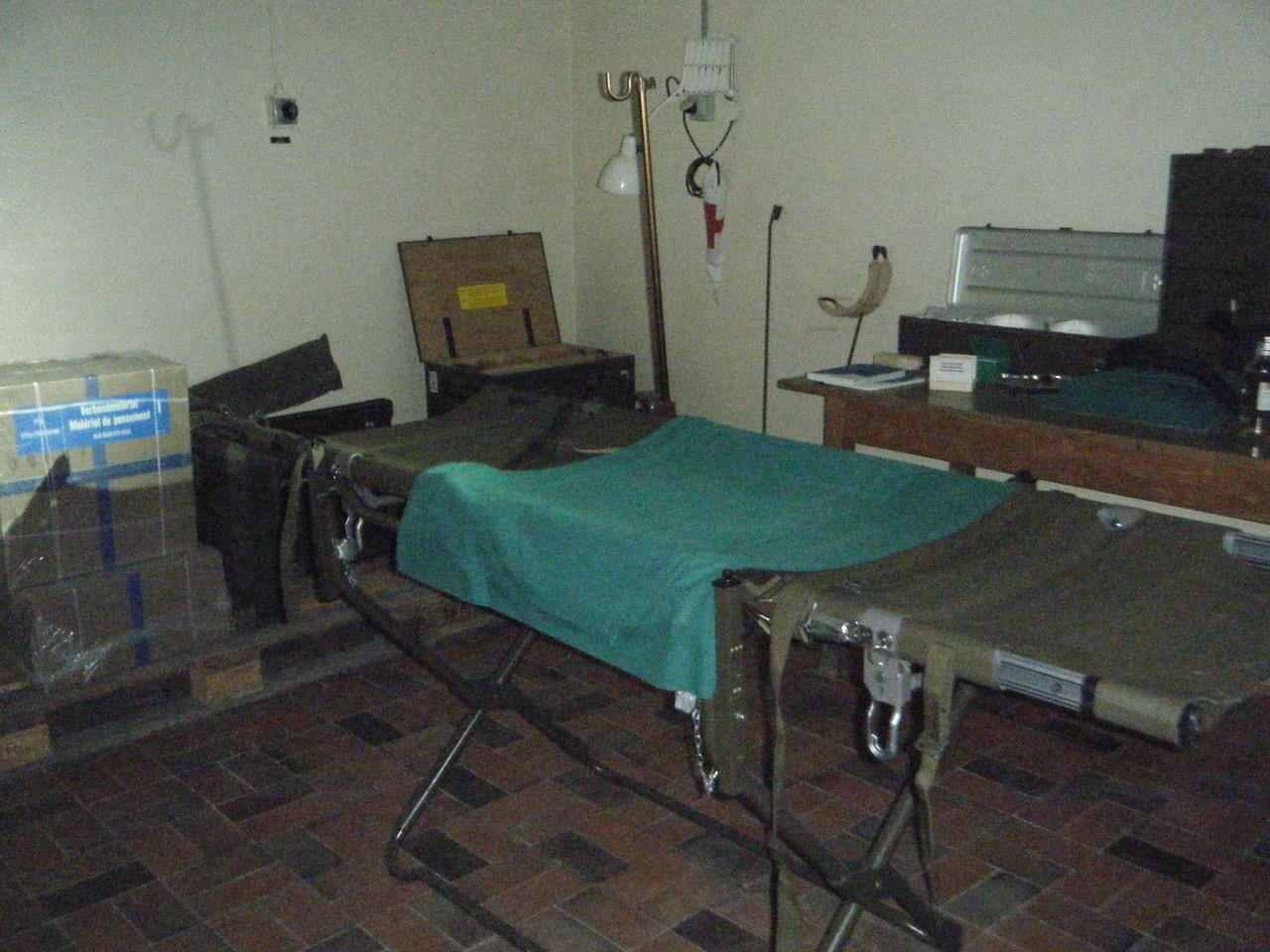 Salle d'opération - Le Fort Saint-Maurice