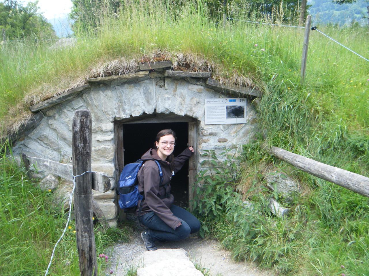 Une maison de hobbit?