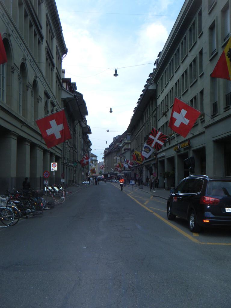 Rue à Berne