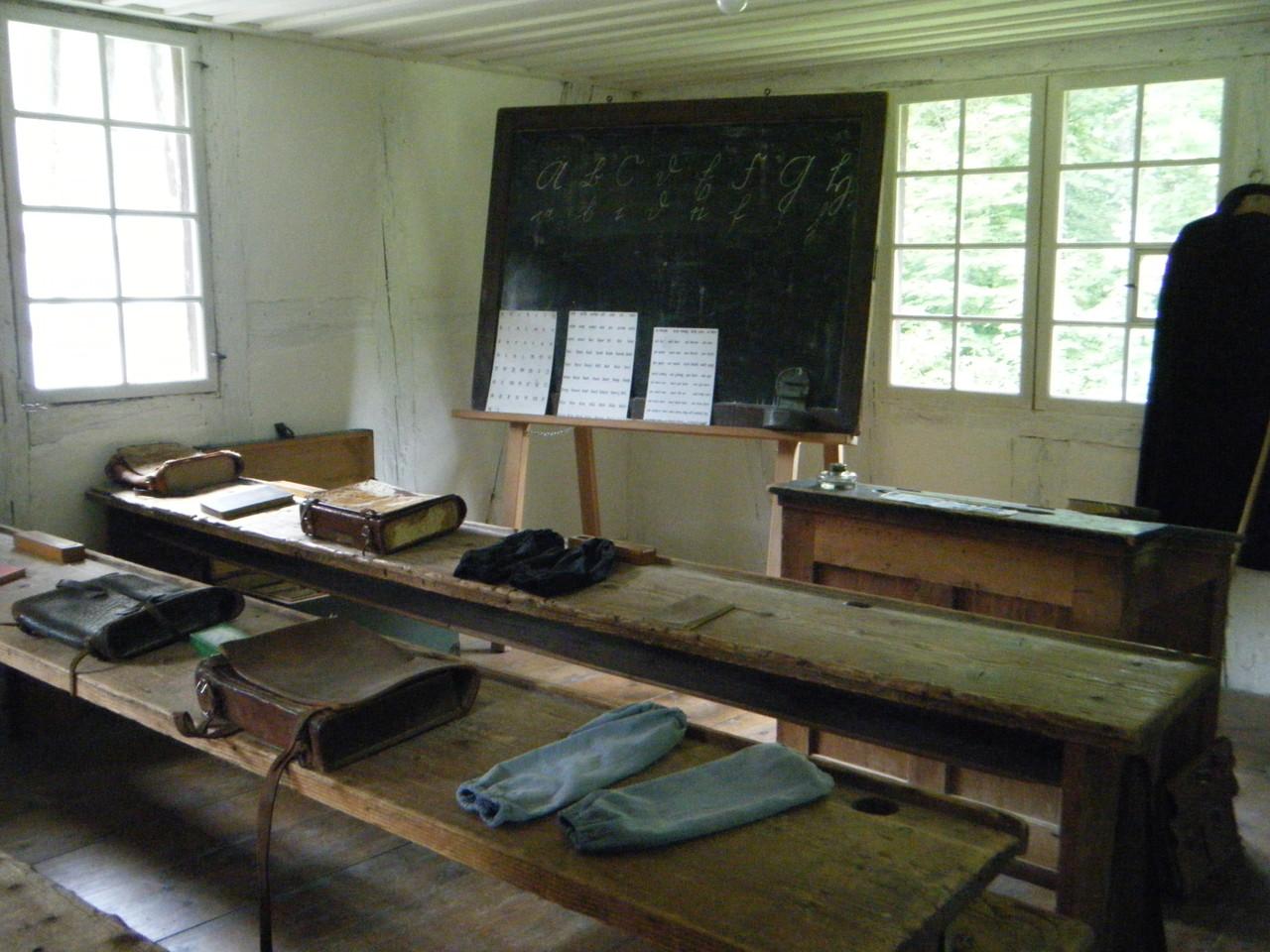 ancienne salle de classe