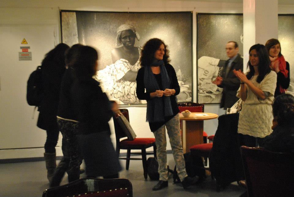 Vernissage de l'exposition autour d'Odyssées de Sophie Bachelier et Célia Bonnin à l'Etoile du Nord