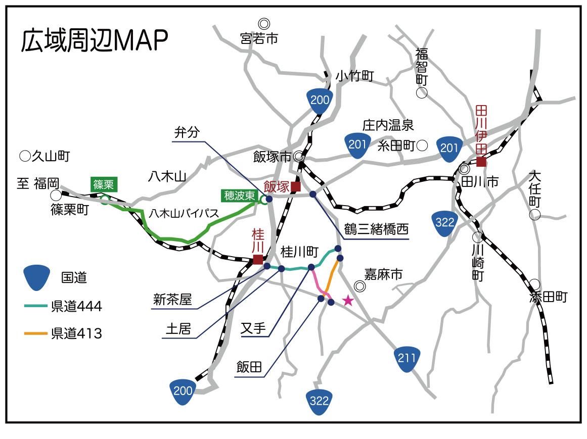 広域周辺マップ