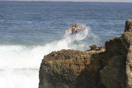 Surfing Pools Beach