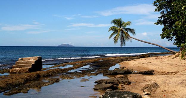 Steps Beach, Tres Palmas Marine Reserve