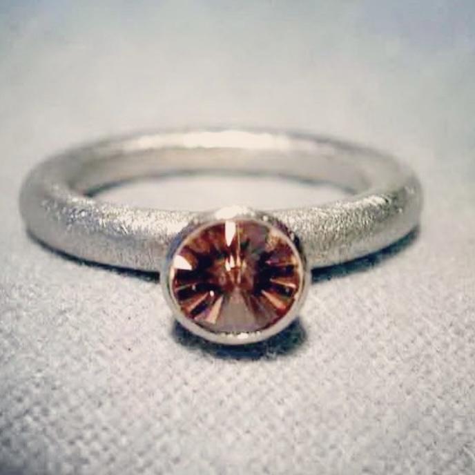 platin ring spirit diamond Freiesleben