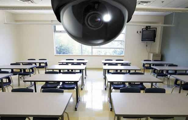 Videovigilancia en los Colegios