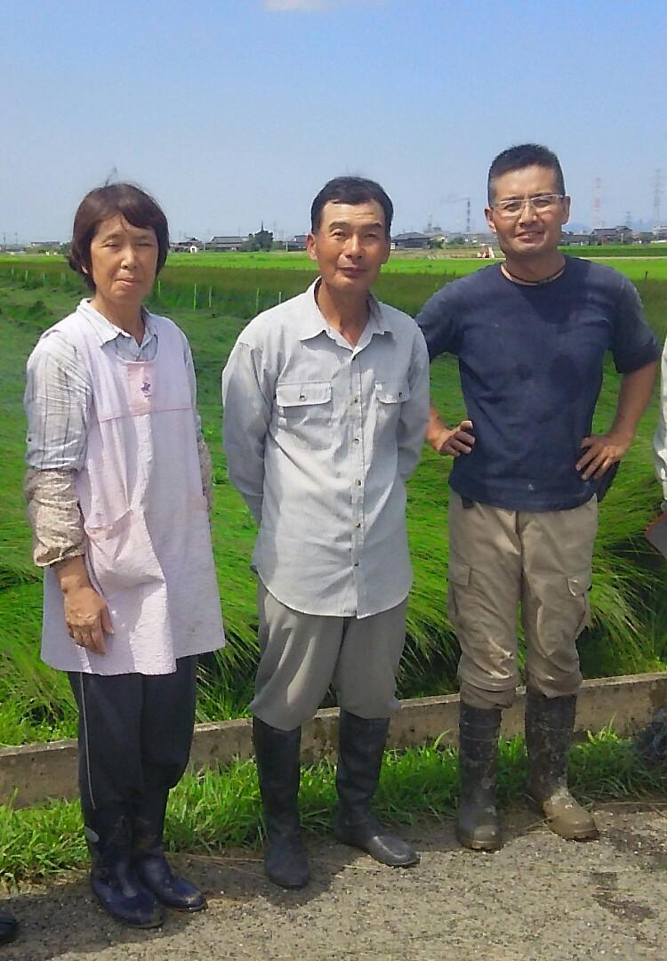 イ草農家の岩本さん