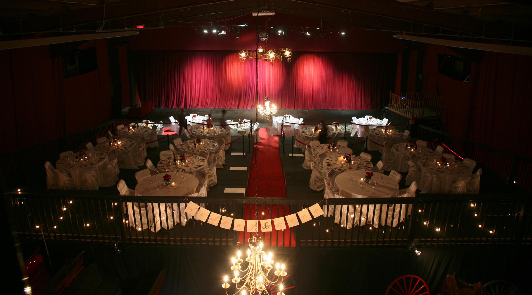 Salle de Théâtre entièrement modulable