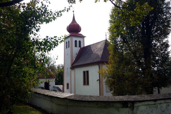 Das Kirchlein am Heiligen Berg in Bärnbach ist der Start des Romweges.