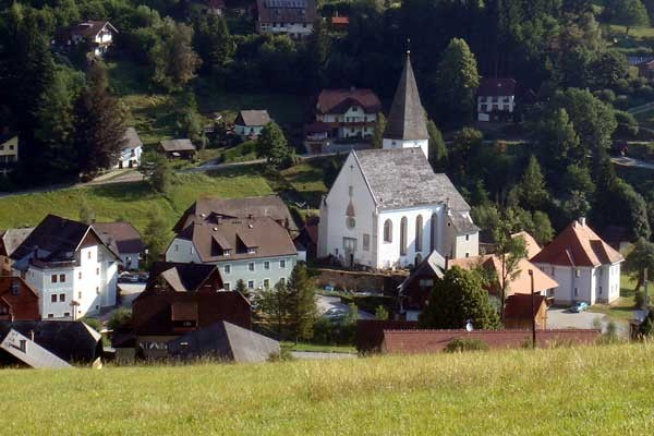 Blick zurück nach Hirschegg