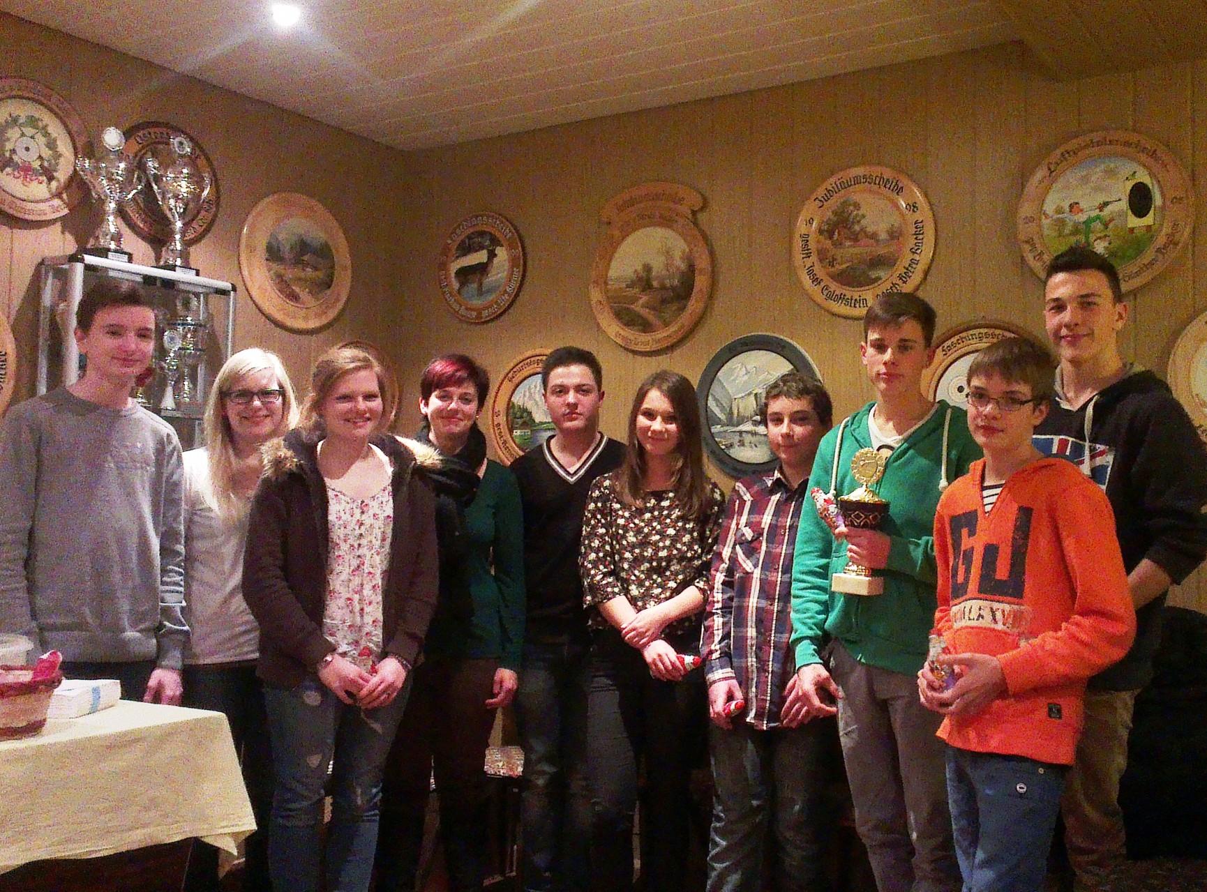 Jugend-Weihnacht-Pokal 2013                                      Gewonnen von Christian Rühlow