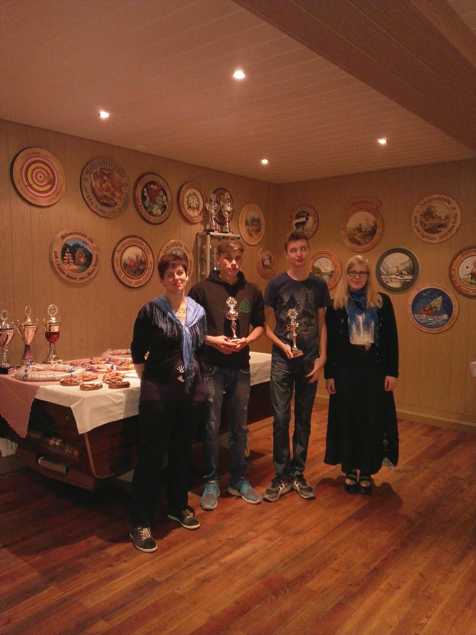 Vereinsmeister Schüler und Junioren