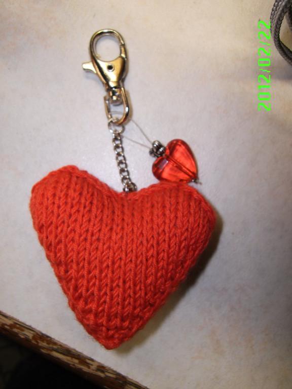Herzchen als Schlüsselanhänger