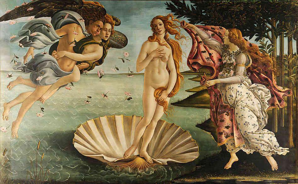 10. Geboorte van Venus