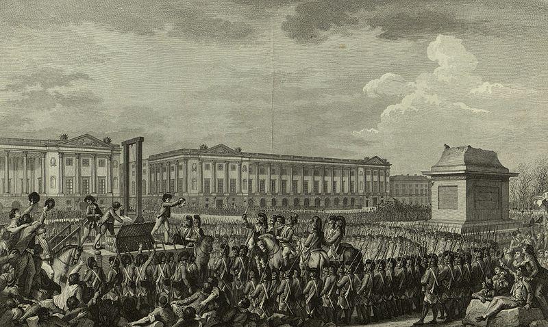 18. Executie Lodewijk XVI