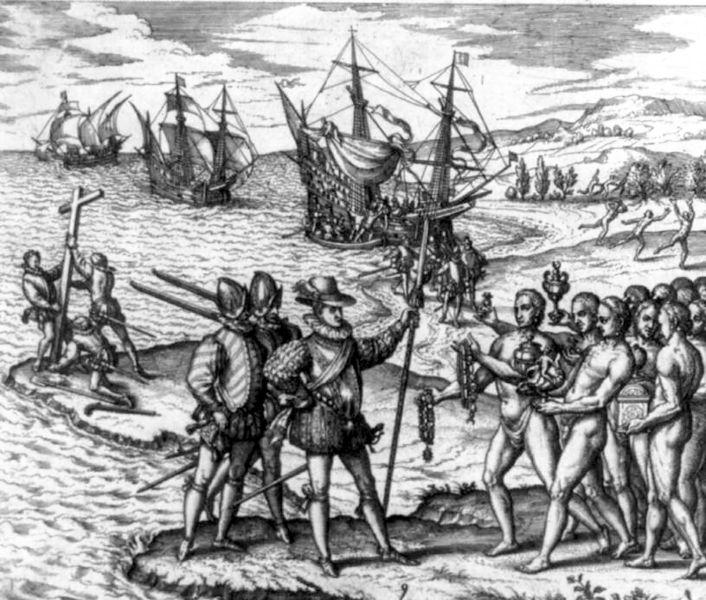 12. Landing van Columbus
