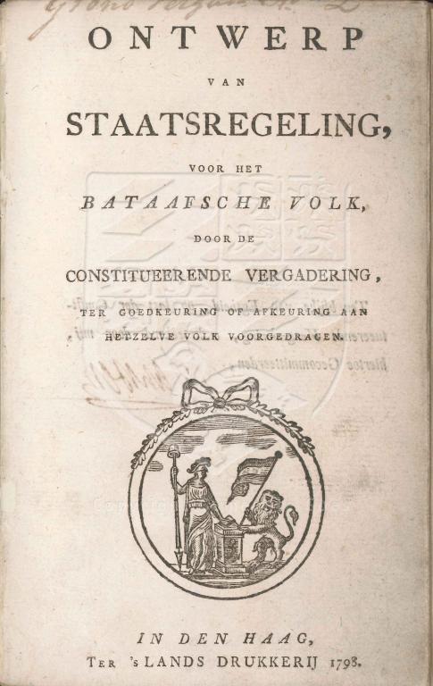 19. Eerste grondwet