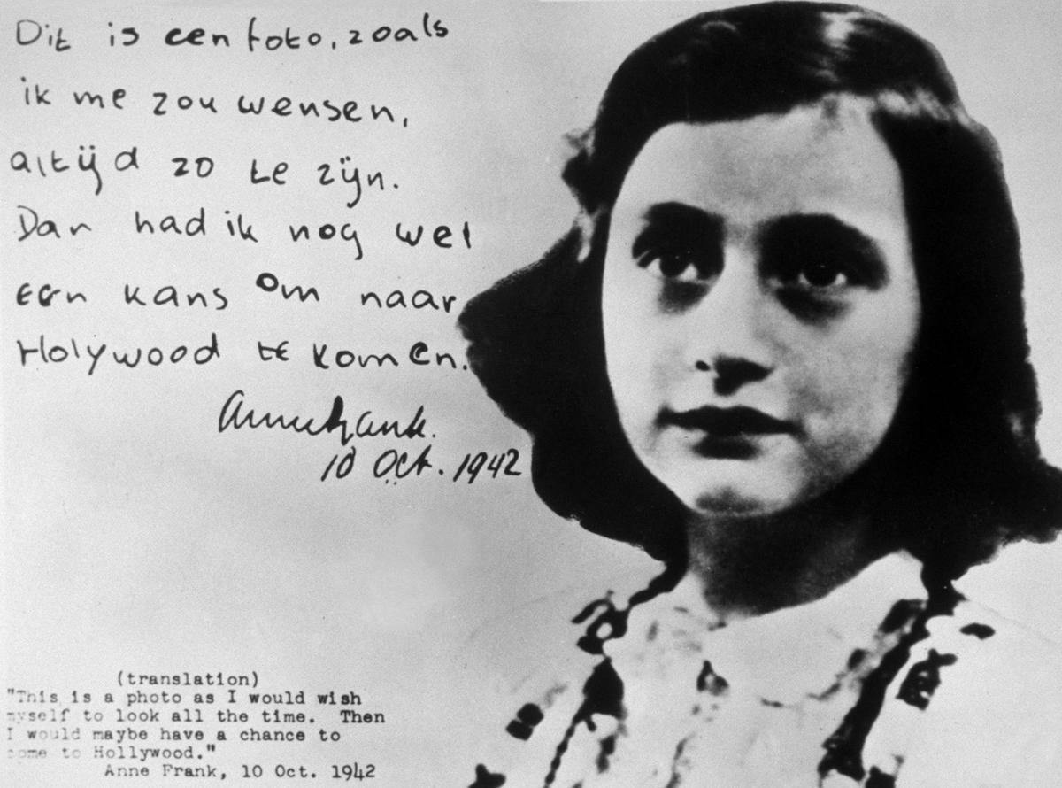 15. Anne Frank