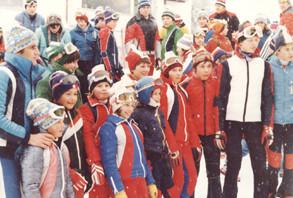 Kinder - und Schülerkader in den 70er