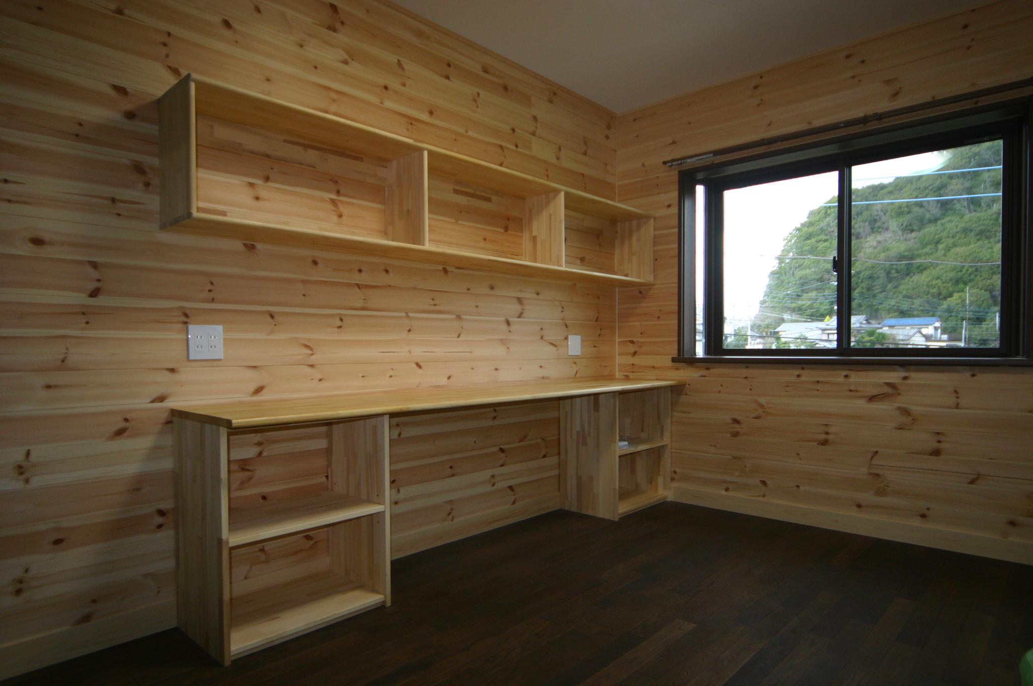 新築住宅の造り付家具