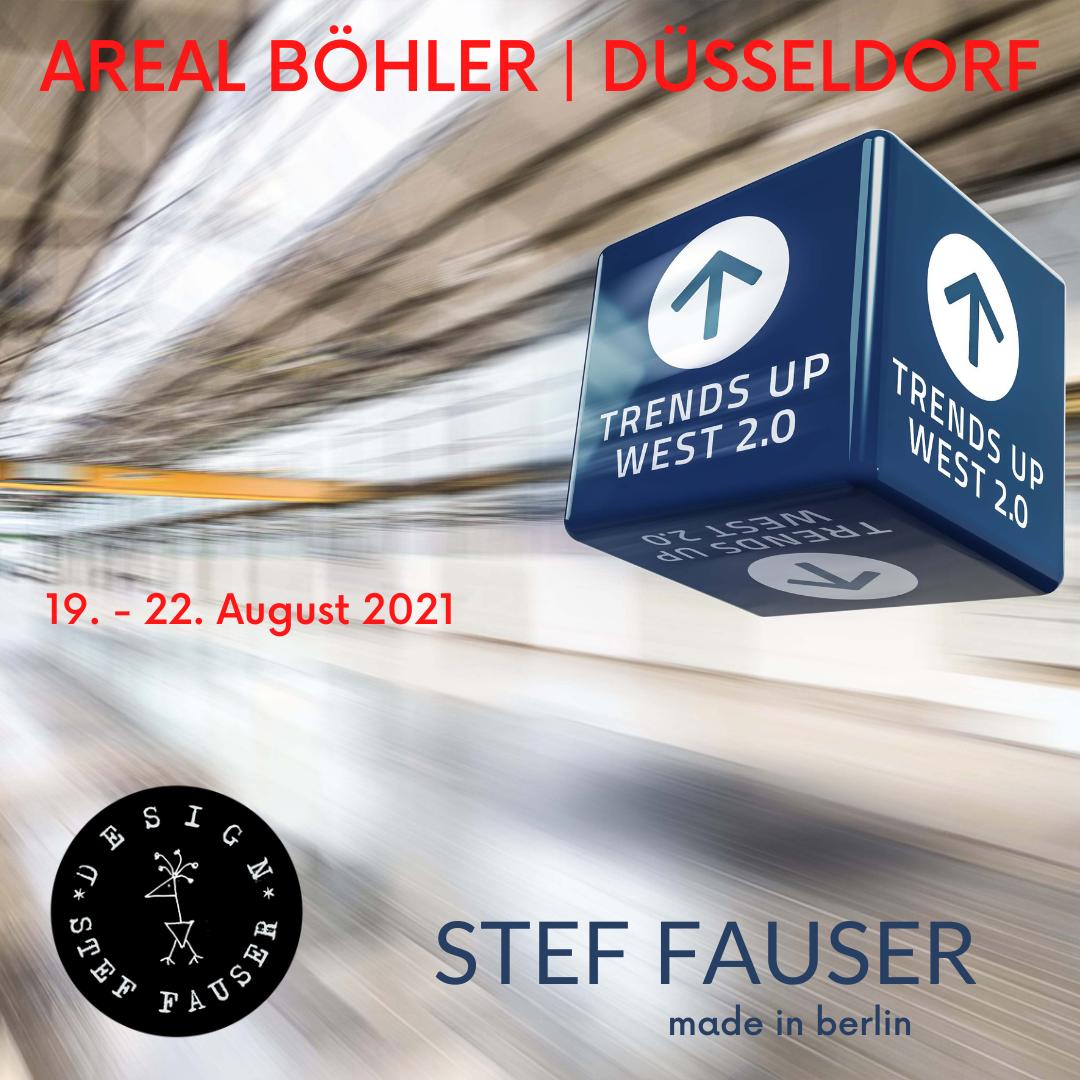 Stef Fauser bei der Trends Up West in Düsseldorf