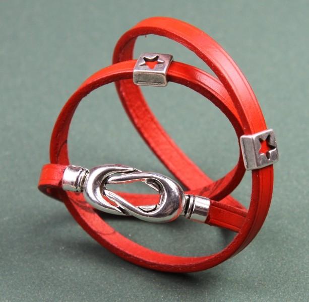 Bracelet cuir Orchis