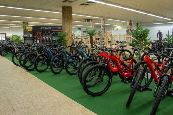 Giant e-Bikes in der e-motion e-Bike Welt Nürnberg